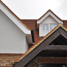 Gable and dormer roofing