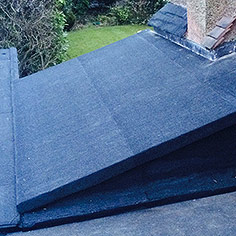 flat and slope roof finish